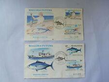 Wallis et Futuna Marquage des Bonites First Day Issue Stamp 1979 set of 2