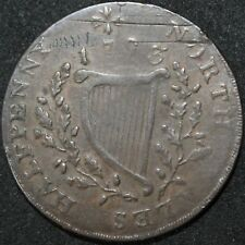 More details for 1797 | north wales half-penny token | tokens | km coins