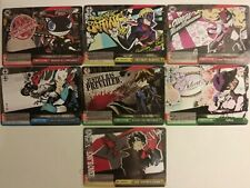 Weiss Schwarz TCG - Persona 5 complete 11 card CX set - Japanese - pack fresh