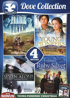 4-FILM Prairie Fever YOUNG PIONEERS Seven Alone RUBY SILVER (DVD) BRAND NEW