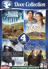 4-Movie Dove Collection V.1 with Bonus Film Young Pioneers' Christmas, Good DVD,
