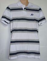 Mens AEROPOSTALE Aero Stripe A87 Logo Polo Shirt size XS NWT #4483