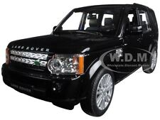 LAND ROVER DISCOVERY 4 BLACK 1:24 DIECAST MODEL CAR BY WELLY 24008