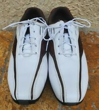 Footjoy Fj Street 56460 Men'S Shoe Size 8M White Brown Worn A Couple Of Times