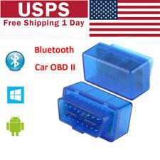 Mini Bluetooth OBD2 OBDII Car Diagnostic Scanner Code Reader Tool Universial