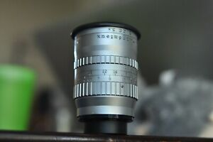 Angenieux 3 inch 75mm F2.5 C mount lens for Bolex H16