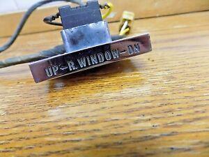 Apr 1961-1963 Pontiac Tempest Safari Wagon Power Window Switch Tail Gate Part