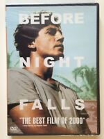 Before Night Falls (DVD, 2001) (NEW)Javier Bardem, Olivier Martinez, Johnny Depp