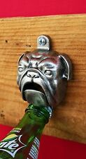 WILLIAMS-SONOMA WALL BULLDOG BOTTLE OPENER –NIB– A BOTTLECAP'S BEST FRIEND!