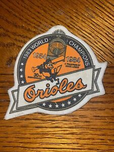 Baltimore Orioles 1954 -1984 1983 World Champions 30th Anniversary Patch