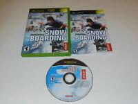 TransWorld Snowboarding Microsoft Xbox Video Game Complete