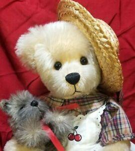 "Mary Holstad ""Alexandra & McKeag"" LE 14/30 Beary Beary Beautiful artist teddy"