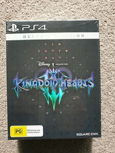 Kingdom hearts 3 Deluxe Edition PS4 BRAND NEW (SEALED) 🇦🇺