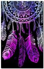 """Beautiful Dreamcatcher CANVAS ART PRINT spiritual Native Pink poster 16""""X12"""""""