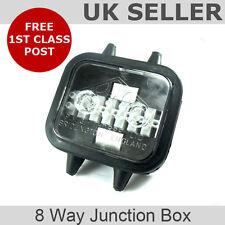 8 Way Waterproof Junction Box (trailer, kit car, lorry)