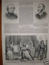 Teatro Olímpico Clancarty en Londres 1874 Print