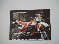 advertising Pubblicità 1984 MOTO HONDA XL 200 R