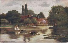 POSTCARD  CAVERSHAM  The Thames       Tuck