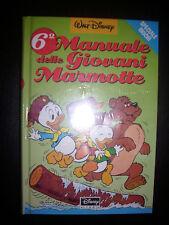 6° MANUALE DELLE GIOVANI MARMOTTE , Walt Disney Company - CELOFANATO NUOVO (DA)