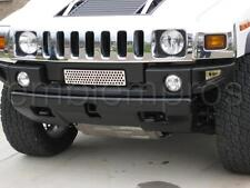 2003-07 H2 HUMMER MINI GRILLE COVER STAINLESS STEEL