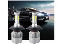 H4 LED Lampadine Lampade Auto Faro Headlight Super Bright CSP Luci 30000LM 6500K