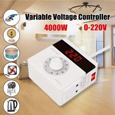 AC 220V 4000W Variable Voltage Controller Regulator For Fan Speed Motor Control