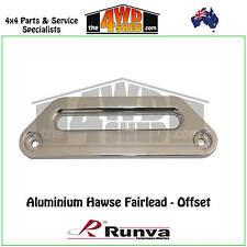 Runva Offset Hawse Fairlead Alloy Dyneema Synthetic Rope ARB TJM MCC Winch bar