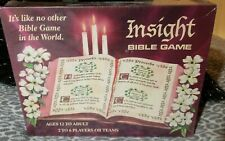 Insight Bible Game Upstart Board 1991 2-6 Players Catholic Book Amusement Sealed
