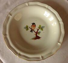 Máximos bonito plato * decoración pájaro con marco dorado * 20,5 cm de diámetro