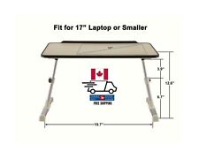 PrimeCables® Laptop Bed Table Portable Standing Desk Laptop Cart/Trolley Stand