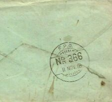 More details for ww1 armistice day 1918 soldiers letter iraq cover india *fpo 366* somerset mal24