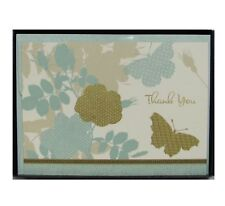 Hallmark Meadow Butterfly Thank You Cards With Envelopes Blank TYN7100 10 Count