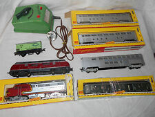 Fleichmann Santa Fe Passenger Train Set Deutsche Bundesbahn Engine Transformer +