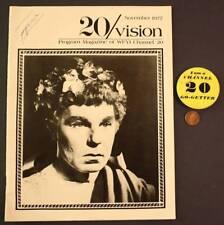 1977 Indianapolis,Indiana Public WFYI TV Channel 20 Club pin/magazine set-RARE!