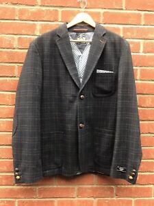 White Stuff Gentlemens Relish Tweed Style Mens Blazer Jacket UK Size XXL