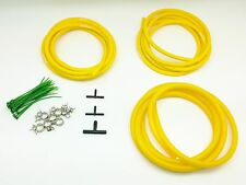 Engine Bay Silicone Vacuum Hose Dress Up Kit YELLOW Fit Detomaso Longchamp