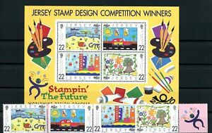 [G381148] Jersey 2000 good sheet w. set of stamps very fine MNH