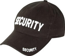 Viper black SECURITY baseball hat mens cap