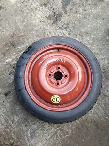Suzuki Splash Spare Wheel & Tyre MK2 2011-14 T125/70R15, 5mm tread WARRANTY