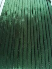 5M 6mm Thin Dark Green Satin Ribbon Trim Card Making Scrapbooking Christmas