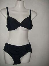 Solar Edler Bikini  Größe 38 B Push Up Schwarz mit Gold Neu