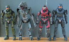 "HALO REACH 5"" figure 4 Pcs *UNSC Airborne+Grey & Green Hazop+Skirmisher Minor*"