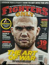 Fighters Only April 2016 Ruthless Robbie Lawler The Art of War FREE SHIPPING sb