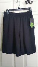 "RBX Men's Training Shorts Size Small Black X-Train X-Dry 9"" Inseam Wicking New"