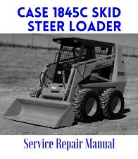 BEST - Case 1845C UNI LOADER Loader Service Shop Manual Parts List Operator - CD