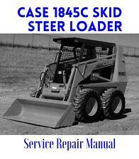 BEST - Case 1845C UNI LOADER Loader Service Shop Manual Parts List Operator - CD