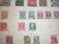 (Lot of 9) 1921-23 Belgium Belgique Belgie 1c to 50c Used Hinged Stamps
