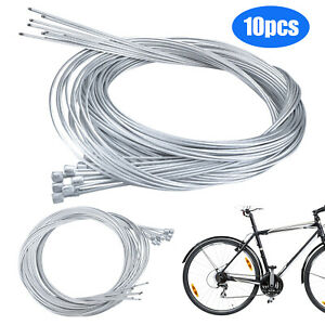 2X Stainless Bike Bicycle Derailleur Shift Shifter Cable Inner Wire Best