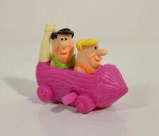 "2000 Fred & Barney Car 3"" Burger King Action Figure Flintstones Viva Rock Vegas"