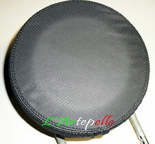 Fiat 500 COVER genuine leather PERFORATED HEADREST front RIGHT AND LEFT